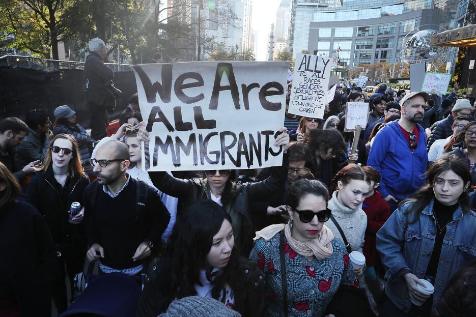 """""""Todos somos inmigrantes""""."""