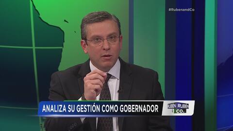 Alejandro García Padilla confiesa su mayor tropiezo y frustración como g...