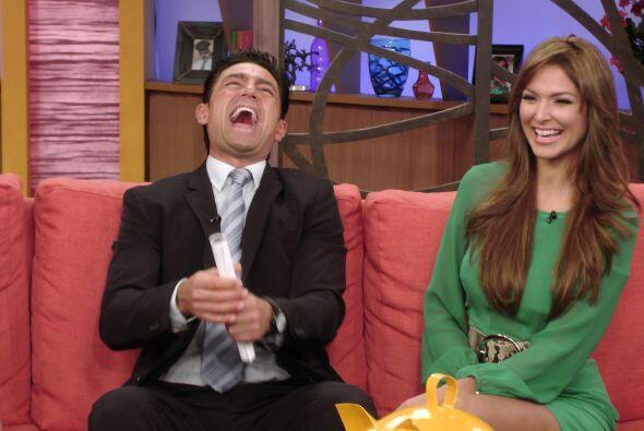 A Fernando le encantó hacer reír en la televisión a...