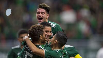 La lista de goleadores en el Tri de Osorio se nutre en el partido con Bosnia