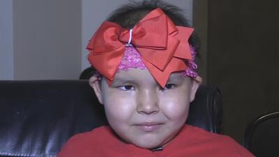 Una niña que lucha contra el cáncer busca que se le cumpla un deseo