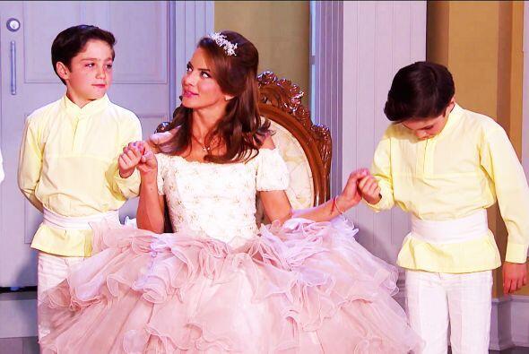 Eres la envidia de todas Ana, tienes a dos verdaderos príncipes tras tus...