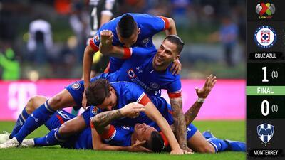 ¡Cruz Azul está en la Final! La Máquina derrotó y echó a Monterrey