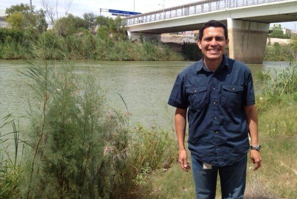 Nuestro reportero Pedro Rojas se fue hasta la frontera de México...