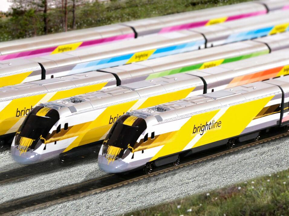 El sistema de trenes conectará a Miami con Fort Lauderdale, pasará por W...