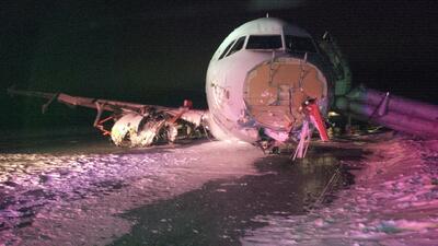 Accidente de avión de Air Canada deja 23 heridos