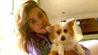 Paulina Goto enternece Instagram al bailar con su mascota
