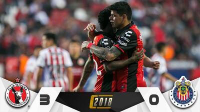 ¡Debacle en Chivas! Xolos goleó 3-0 al Rebaño y lo dejó sin Liguilla