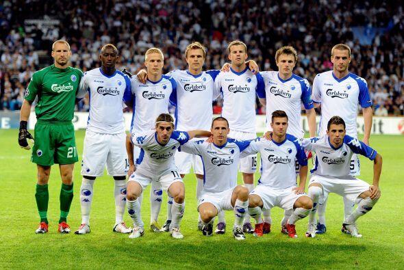 Los daneses, actuales campeones de su Liga, accedieron hasta esta fase a...