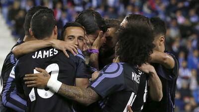 Real Madrid se impone con facilidad contra Leganés y mantiene su liderato
