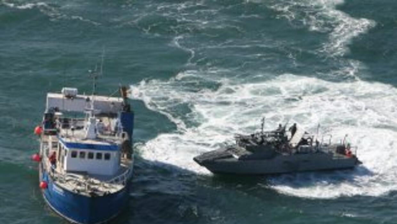 Autoridades mexicanas ubicaron en el puerto de Manzanillo (Pacífico) el...