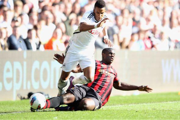Y el Swansea sacó provecho de esto, al irse al frente al minuto 83 graci...