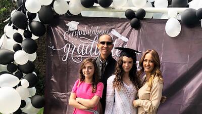 """Andrea Legarreta está """"llena de orgullo"""" por la graduación de su hija"""