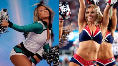 Super Bowl de las porristas: ¿cuáles son las más hermosas entre las de Eagles y Patriots?