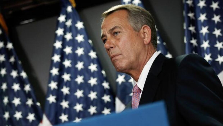 John Boehner, presidente de la Cámara de Representantes.