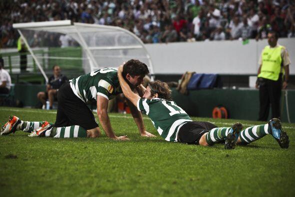 Pero Emiliano Insúa se encargó de darle el triunfo definitivo a los lusi...