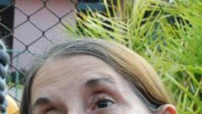 La disidente cubana Hilda Molina, dijo saber que Fidel Castro estará det...