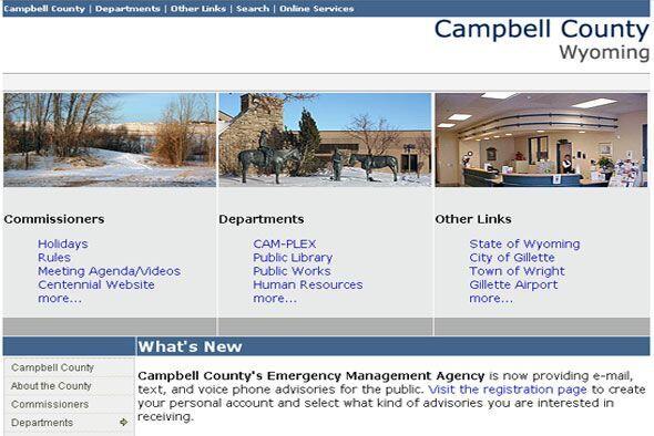 10. CAMPBELL COUNTY, WYO.- Conocida como la capital energética de...