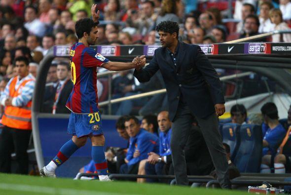 Mientras que Rijkaard ha escrito lo mejor de su palmarés como técnico de...