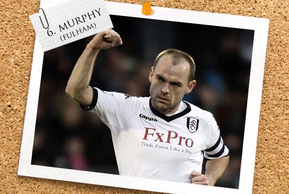 Si se trata de capitanes y verdaderos líderes, Danny Murphy lo es...