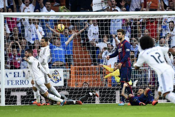 El Real Madrid comenzaba a calebrar la goleada.
