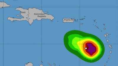 Tormenta Kirk causa inundaciones y apagones en el Caribe y pone en alerta a República Dominicana