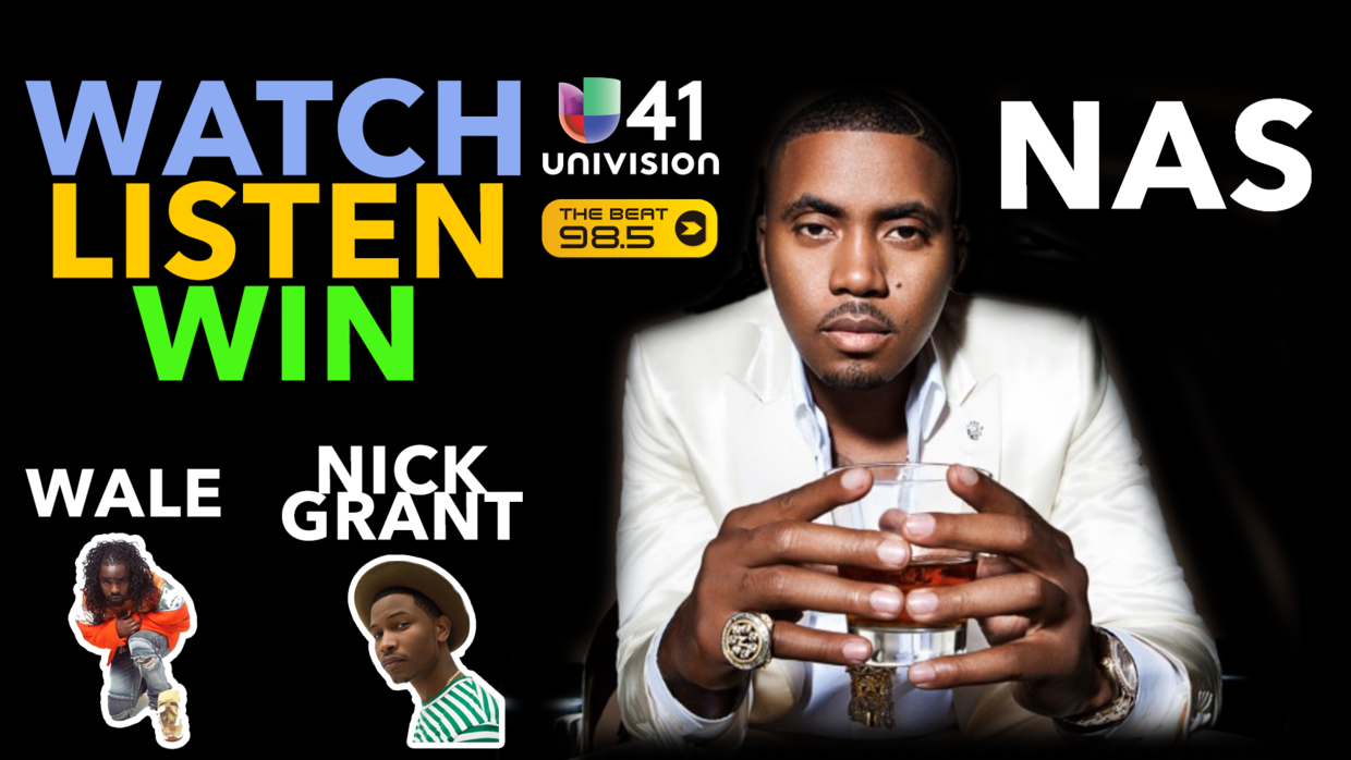 Watch. Listen. Win - Nas Tickets