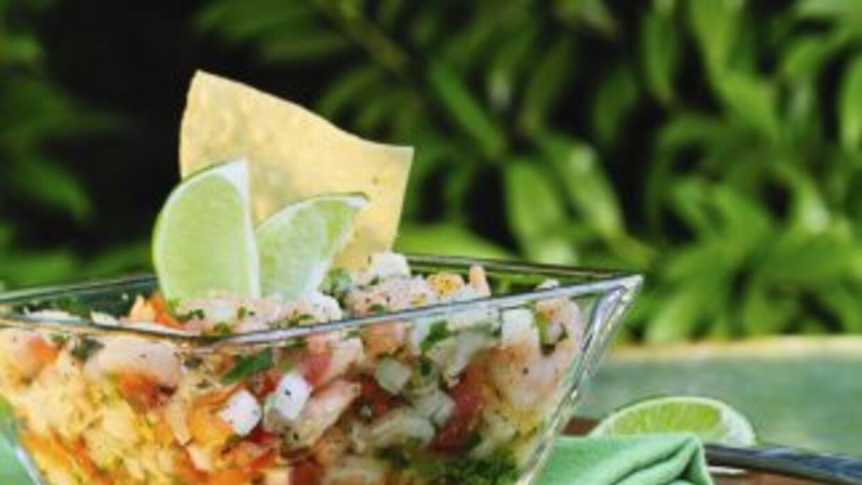 A base de pescado, el ceviche peruano saldrá estupendo si tienes en cuen...