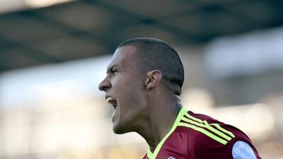 Rondón hizo el gol mortal para los cafeteros, pero importante para las e...