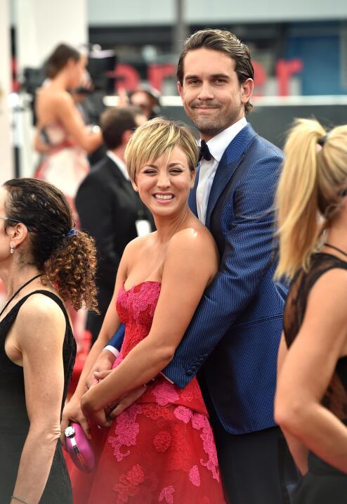 Kaley Cuoco y Ryan Sweeting durante su matrimonio.