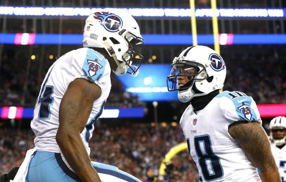 NFL: New England Patriots vencen a los Tennessee TItans en ronda divisio...