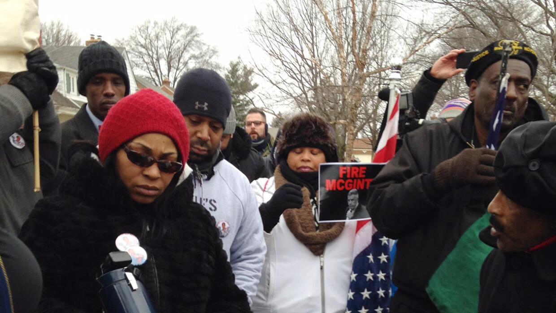 Tamir Rice protesta