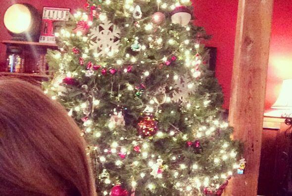 Taylor Swift encendió su árbolito y así comenzar lo...