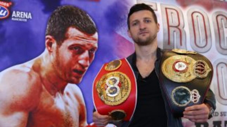 Carl Froch quiere pelear con Julio César Chávez Jr. o Andre Ward.