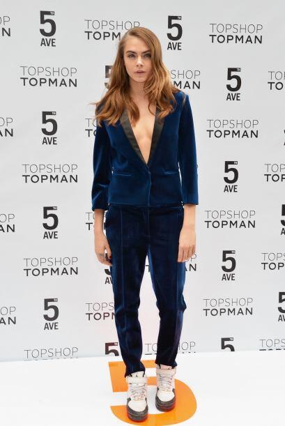 A esta moda se le ha denominado 'tuxedo', que es el simple hecho de usar...