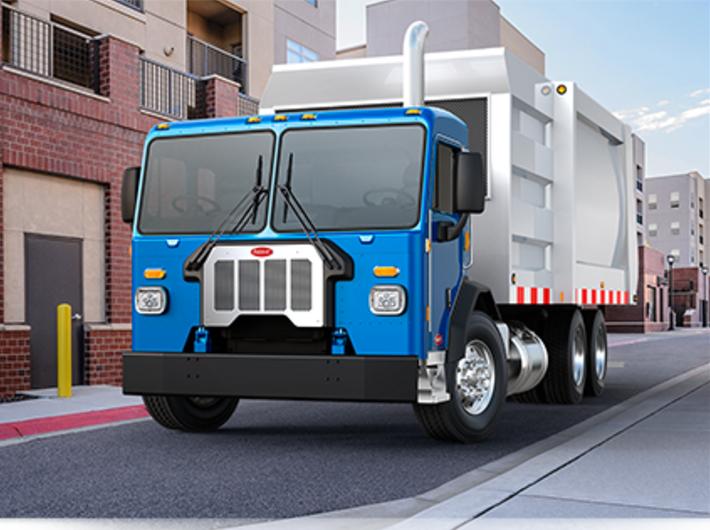 Los camiones ecológicos de Peterbuilt 520.png