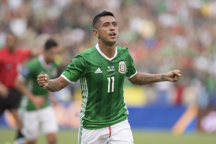 Elías Hernández (México): un gol