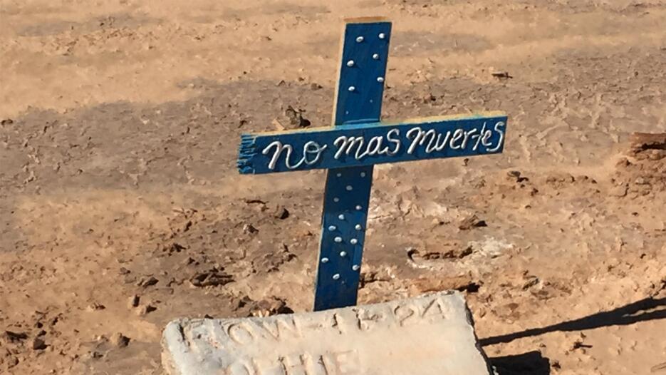 En fotos: El Cementerio de los Olvidados en Hotville, California cemente...