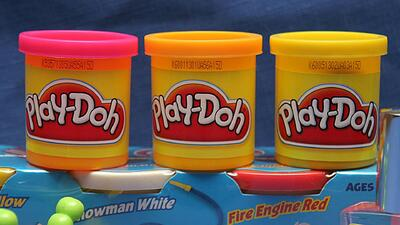 La compañía Hasbro patentó el olor de su popular plastilina Play-Doh