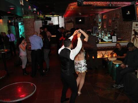 La segunda noche de los Bacardi Latin Nights en 809 Lounge fue todo un e...