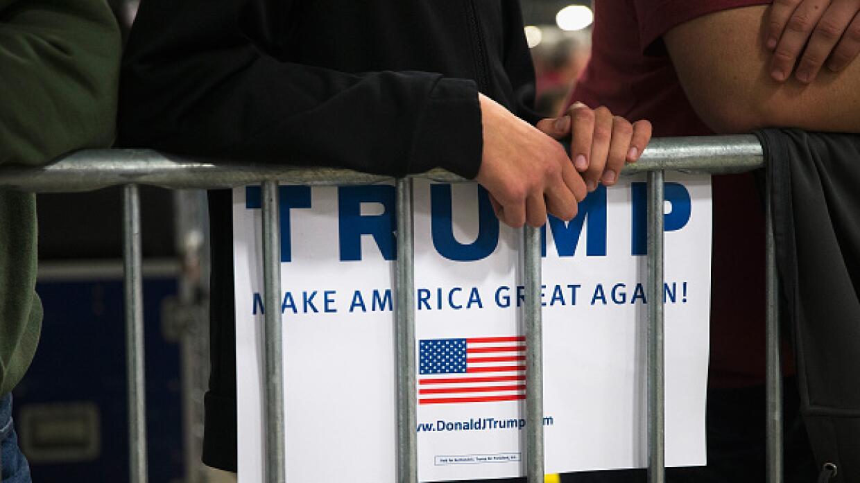 """La promesa de Trump es """"hacer grandioso de nuevo a Estados Unidos"""""""