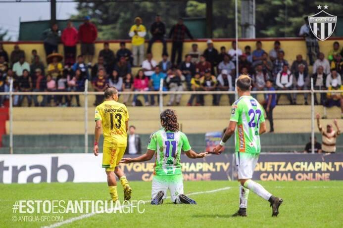 (Liga Nacional) Marquense 2-[2] Antigua: Agustín Herrera volvió a marcar...