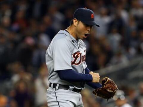 Los Detroit Tigres volvieron a sorprender en el Yankee Stadium y pusiero...