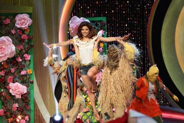 Marina Ruíz decidió mostrarle al público su lado de actriz y bailarina.