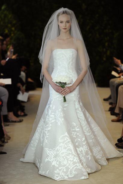 Strapless: Este estilo se ha vuelto un clásico de las novias, pue...