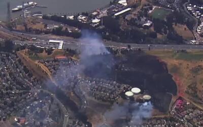 'Área de la Bahía en un Minuto': varias viviendas resultaron afectadas p...