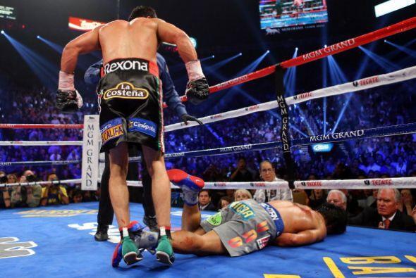 El 8 de diciembre del 2012 se dio la cuarta pelea entre Márquez y Pacqui...