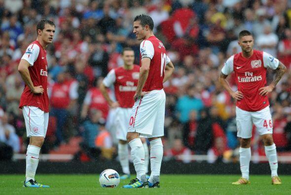 El empate dejó sin ánimo a los jugadores del Arsenal y lo pagaron muy caro.