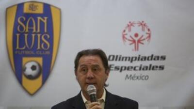 Alex Aguinaga cuando dirigí a San Luis de México, el exmundialista ecuat...