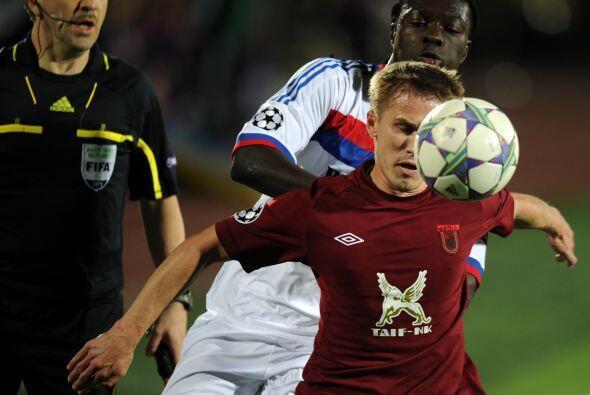 Los rusos necesitaban dos goles y no recibir ninguno para remontar el 3-...